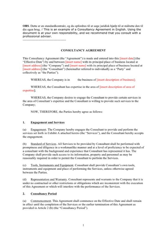 Contract Template  Free Templates In Doc Ppt Pdf  Xls