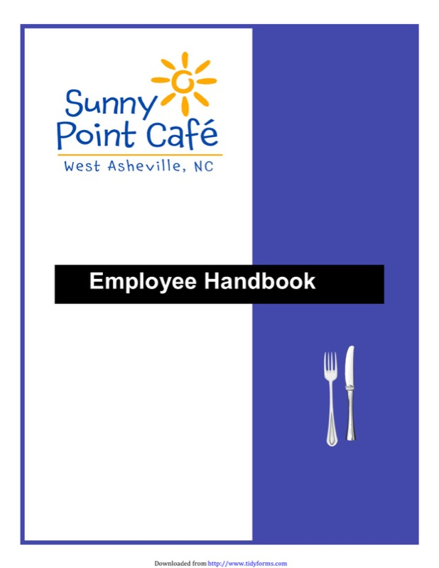 Employee Handbook Template  Free Templates In Doc Ppt Pdf  Xls