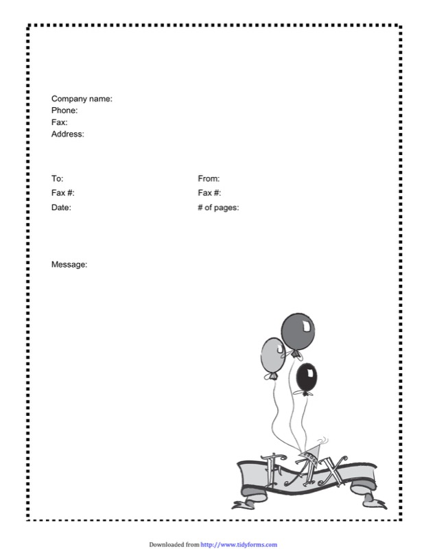Funny Fax Cover Sheets Templates  Free Templates In Doc Ppt Pdf  Xls