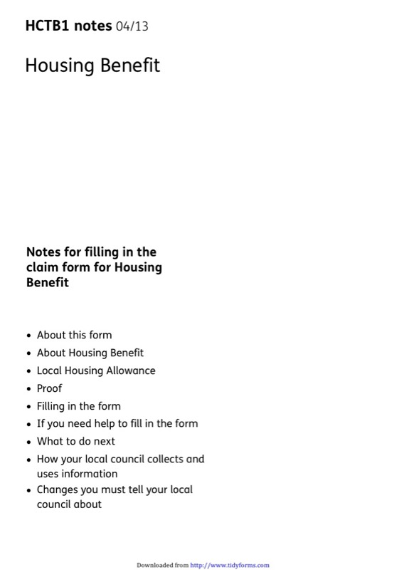 Housing Benefit Form Templates  Free Templates In Doc Ppt Pdf  Xls