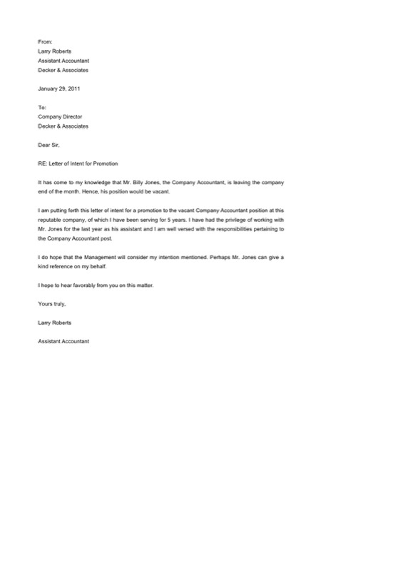 Promotion Letter Templates  Free Templates In Doc Ppt Pdf  Xls