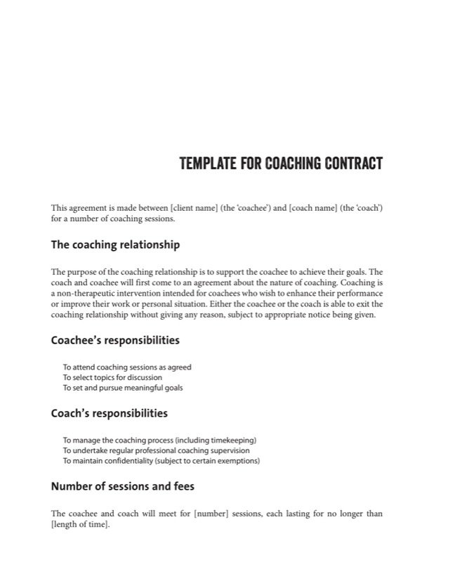 Contract Layout Template Tierianhenry