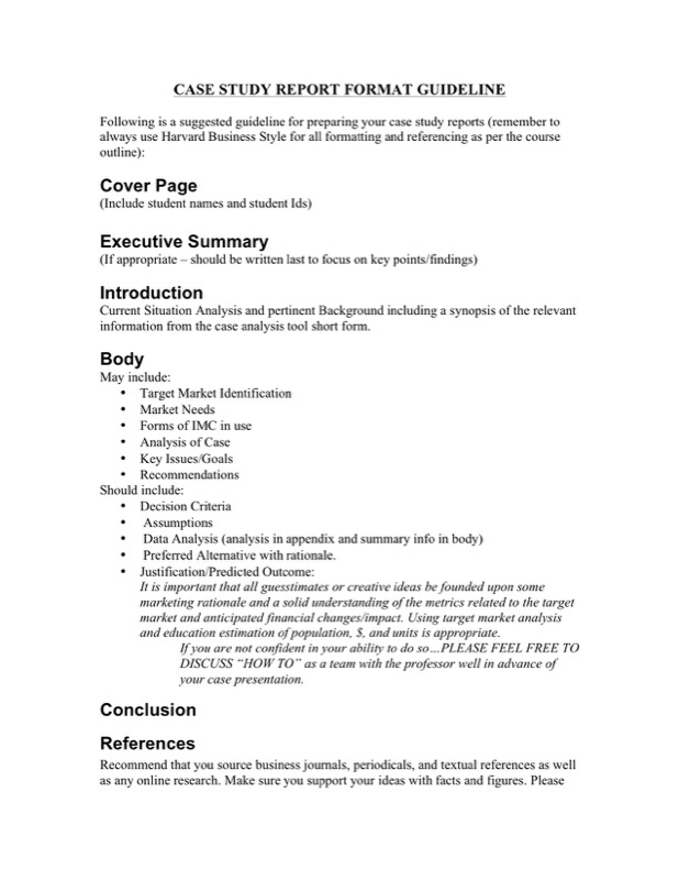 Marketing Case Study Template  Free Templates In Doc Ppt Pdf  Xls