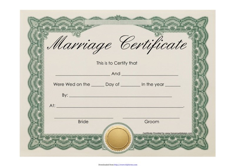 563 certificate template free templates in doc ppt pdf xls marriage certificate view more yelopaper Images