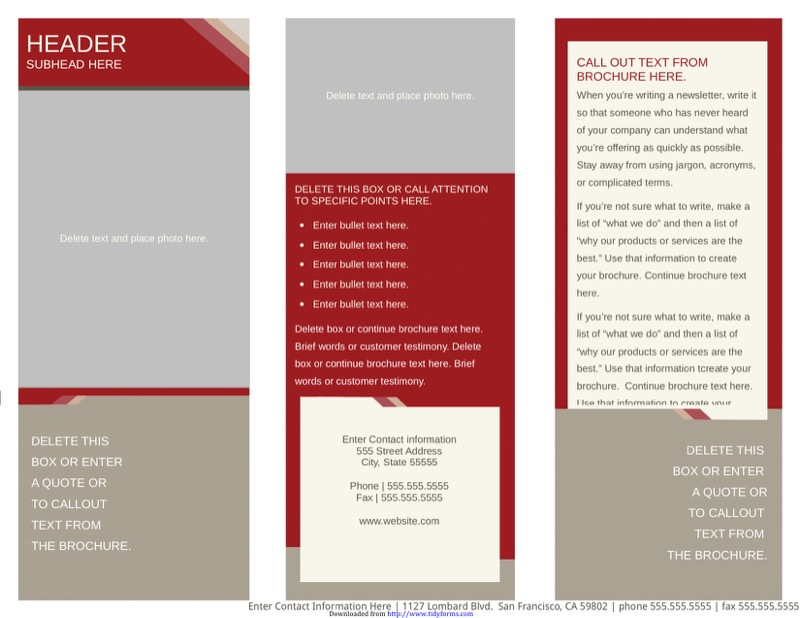 Medical Brochure Templates Free Templates In DOC PPT PDF XLS - Free medical brochure templates