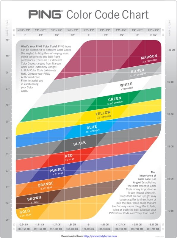 General Color Chart Templates  Free Templates In Doc Ppt Pdf  Xls