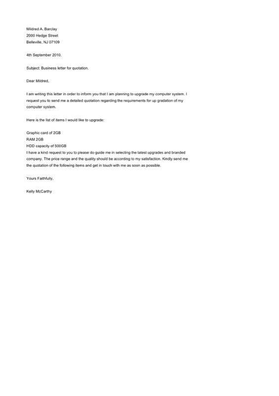 Download format of relieving letter from employee for free tidyform quotation format letter for business free word format spiritdancerdesigns Images