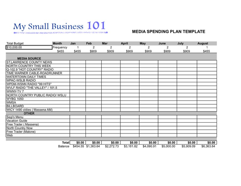 Advertising Plan Templates  Free Templates In Doc Ppt Pdf  Xls