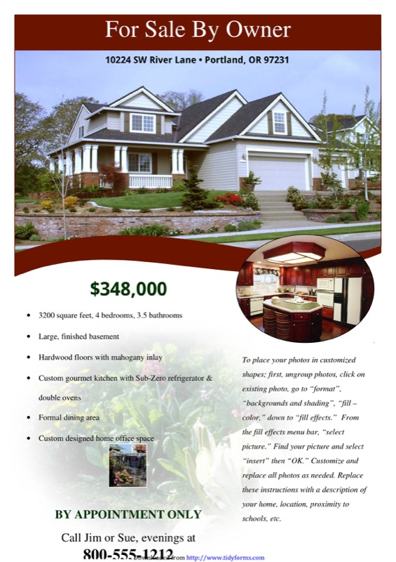 Real Estate Flyer Templates Free Templates In DOC PPT PDF XLS - Real estate brochures templates free