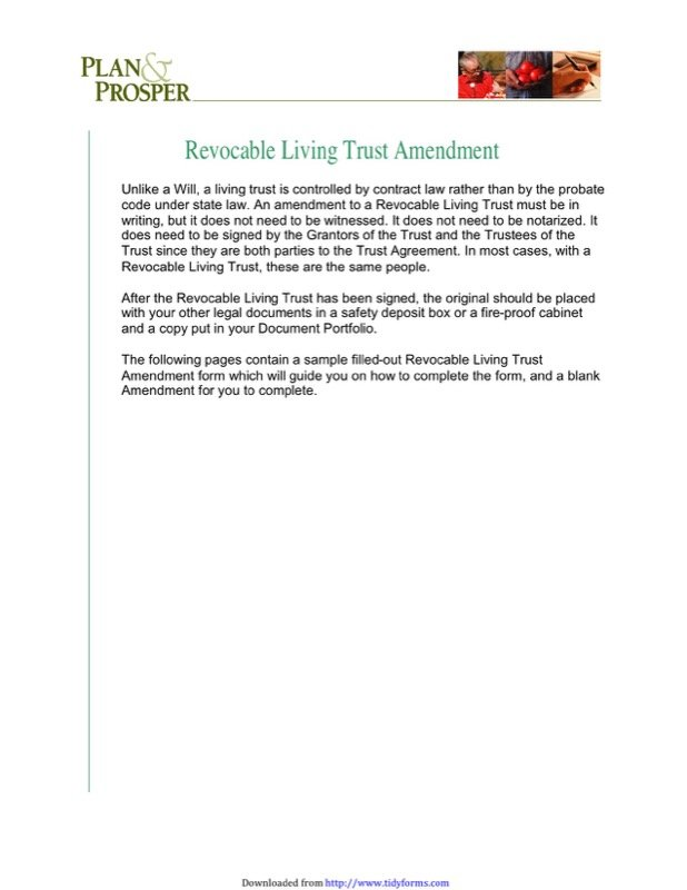 Living Trust Form Templates  Free Templates In Doc Ppt Pdf  Xls