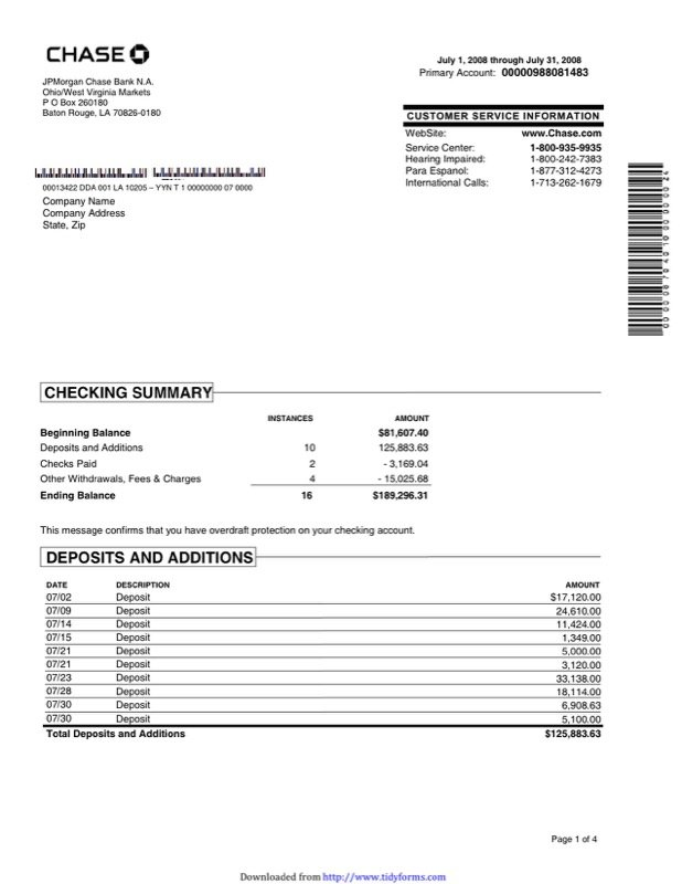 Charming Sample Bank Statement Ideas Blank Bank Statement Template