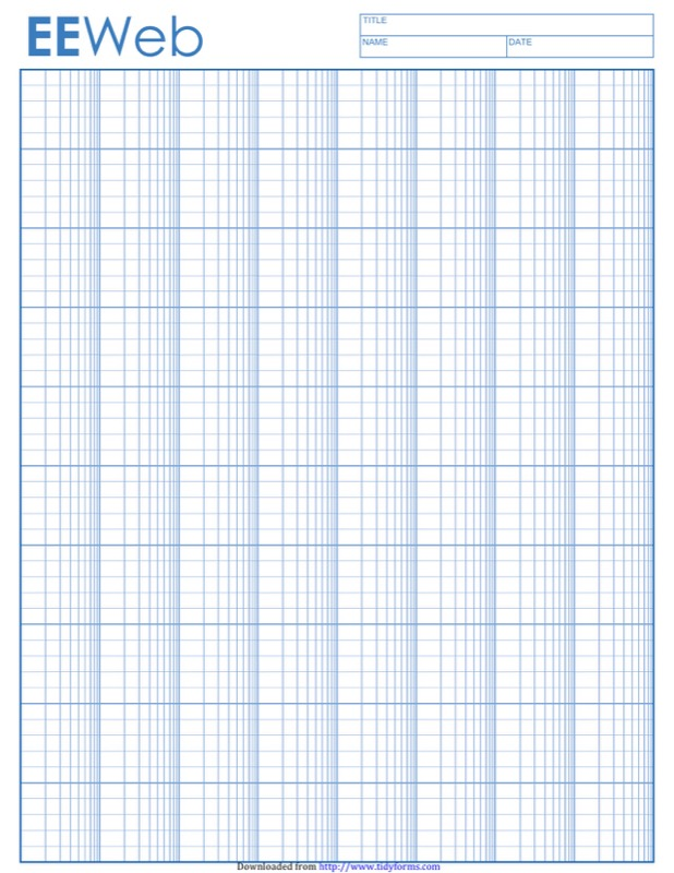 Semi Log Graph Paper Templates  Free Templates In Doc Ppt Pdf  Xls