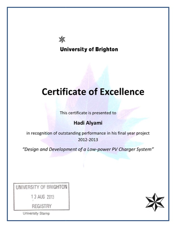 Download Certificate Of Student Excellence For Free  Tidyform