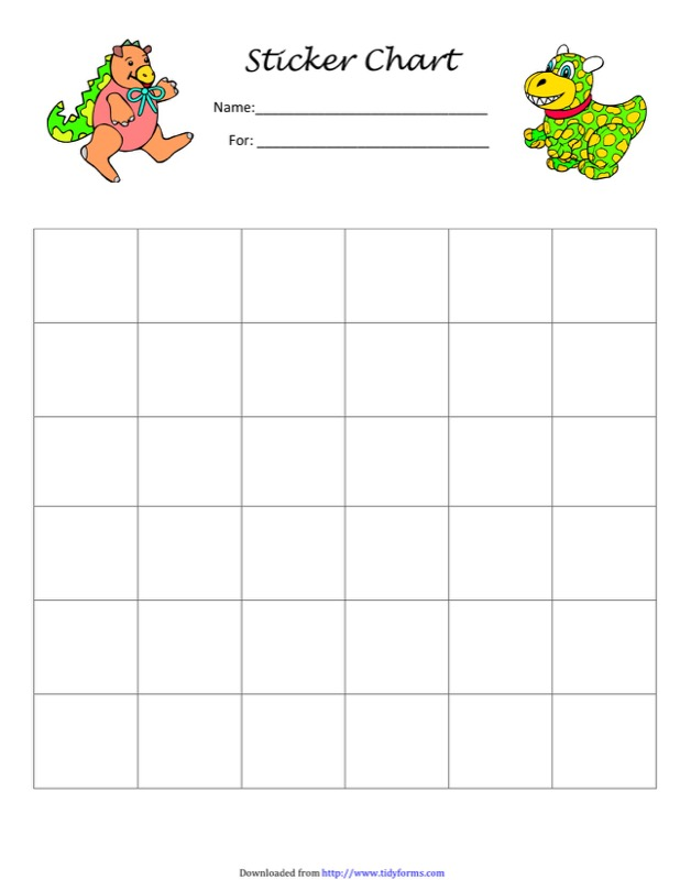 Sticker Charts Templates  Free Templates In Doc Ppt Pdf  Xls