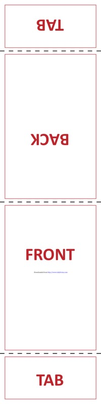 Table Tent Template 3
