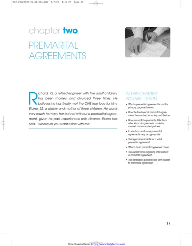 Texas Prenuptial Agreement Sample  Free Templates In Doc Ppt Pdf