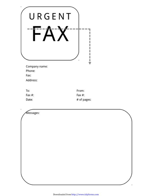 Urgent Fax Cover Sheet Templates  Free Templates In Doc Ppt Pdf  Xls