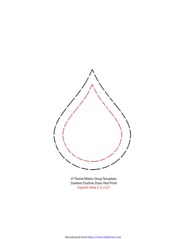 Raindrop Template  Free Templates In Doc Ppt Pdf  Xls