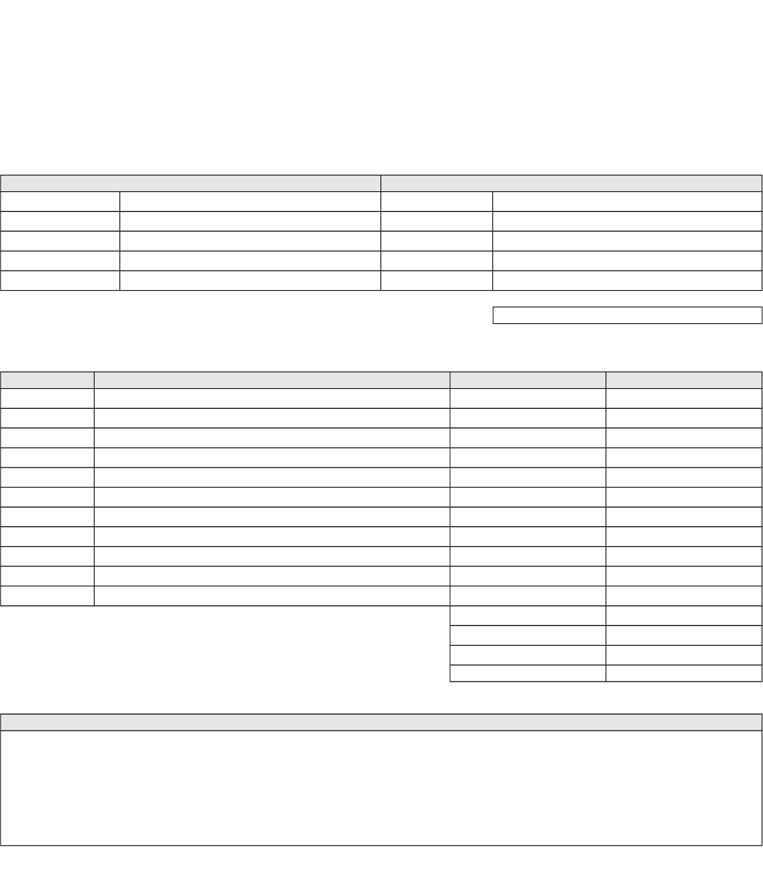 The Blank Invoice Template 2 can help you make a professional and – Blank Invoice Template