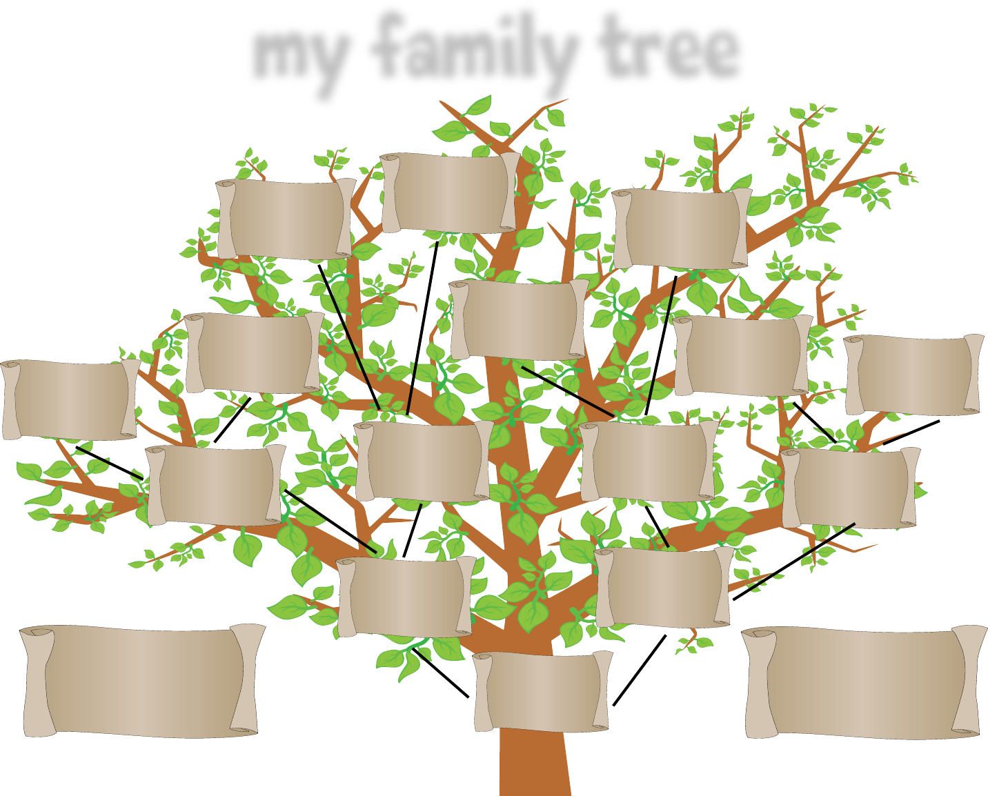 Download family tree template with siblings for free tidyform family tree template with siblings saigontimesfo