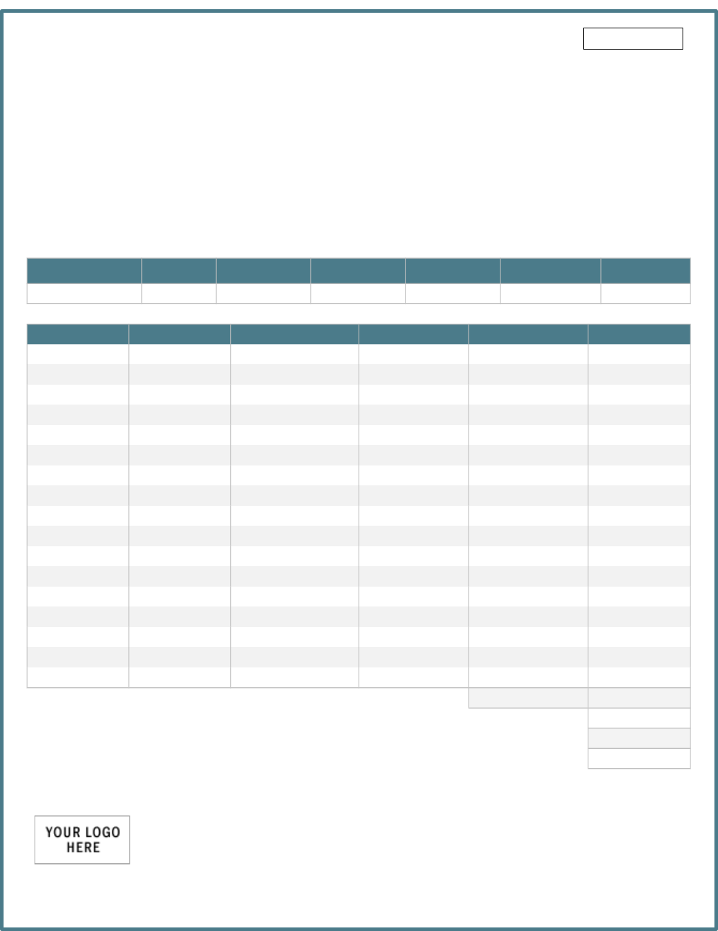 Download General Invoice Template For Free TidyForm - General invoice template