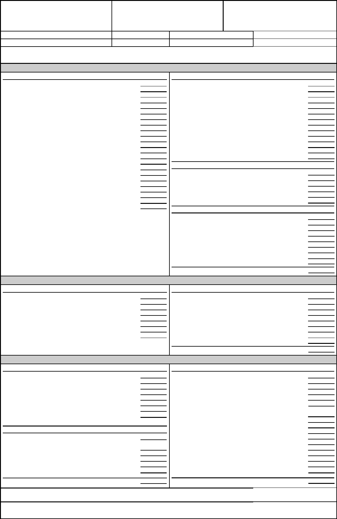 good faith blank estimate template pdf printable good faith blank estimate template pdf printable