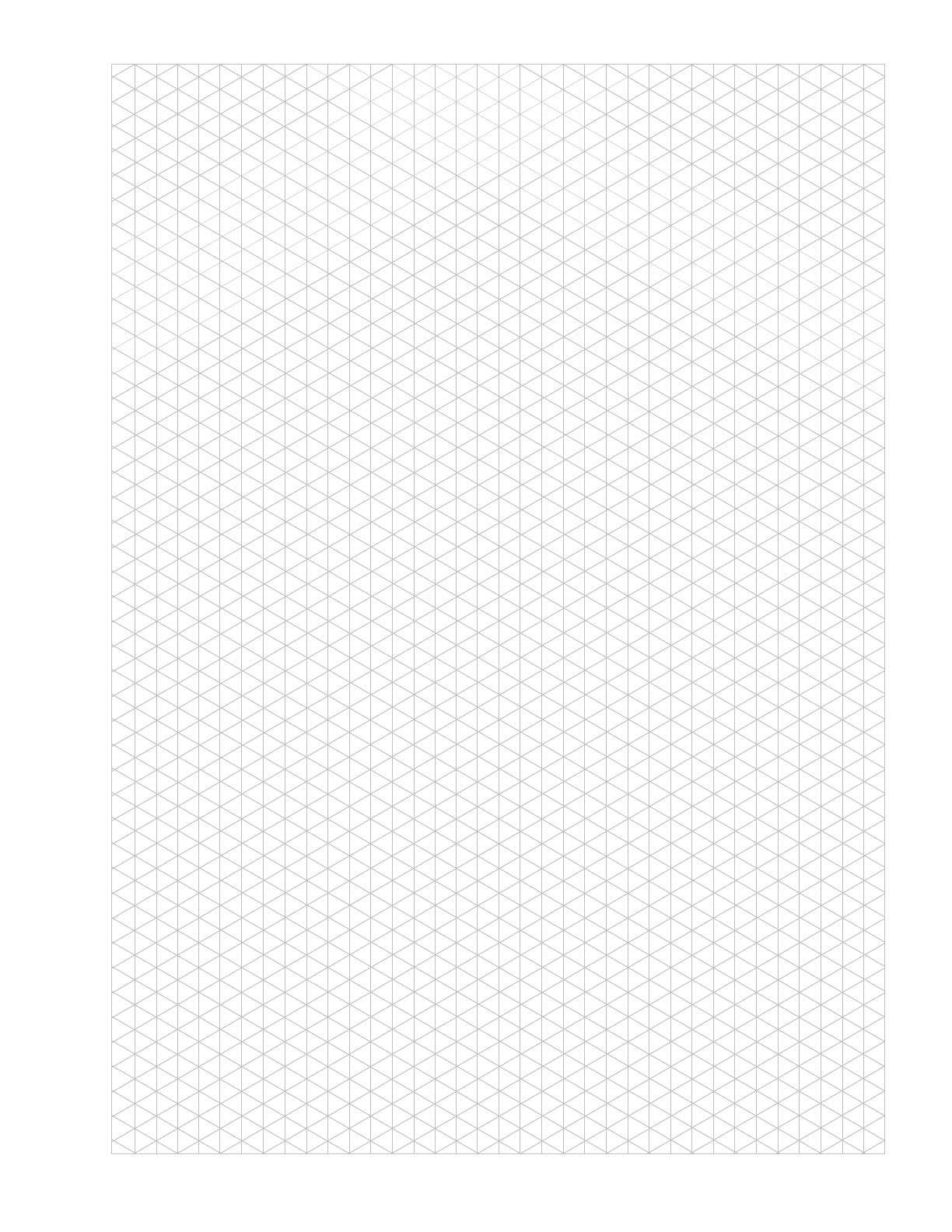The Isometric Graph Paper Gray Vertical Triangle can help you – Triangular Graph Paper