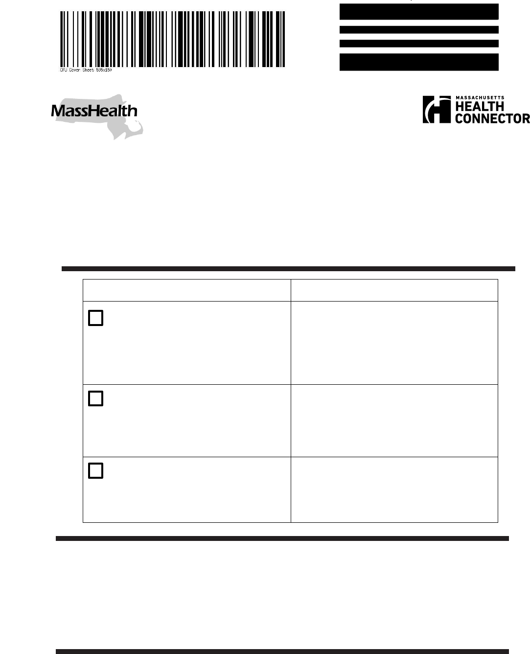 the masshealth health coverage mail fax cover sheet can help you masshealth health coverage mail fax cover sheet
