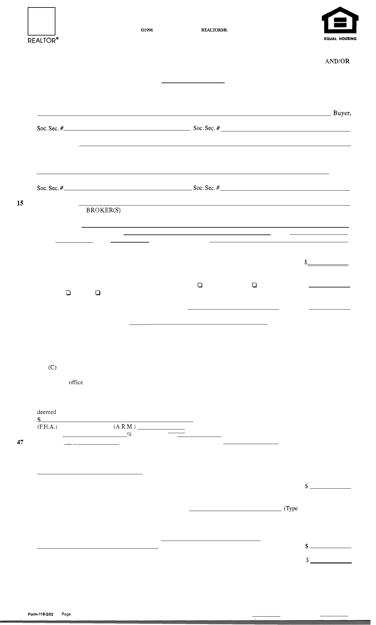 Download new jersey association of realtors standard form of real new jersey association of realtors standard form of real estate contract falaconquin