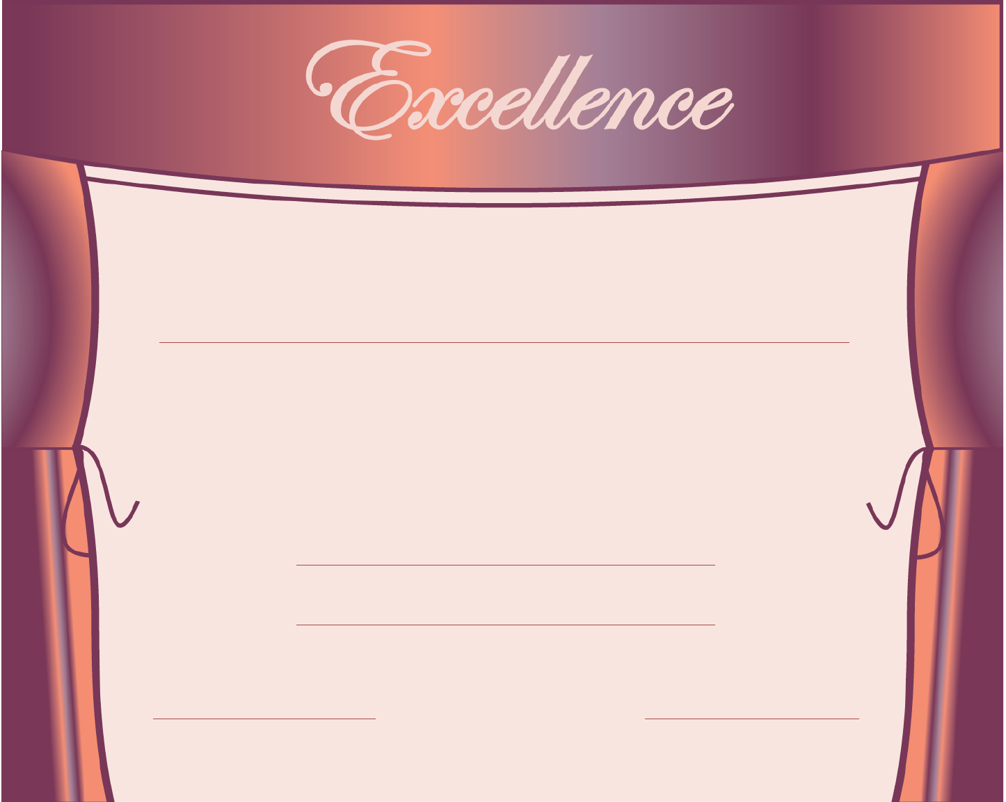 The Sample Excellence in Talent Show Certificate can help you make – Sample Certificate of Excellence