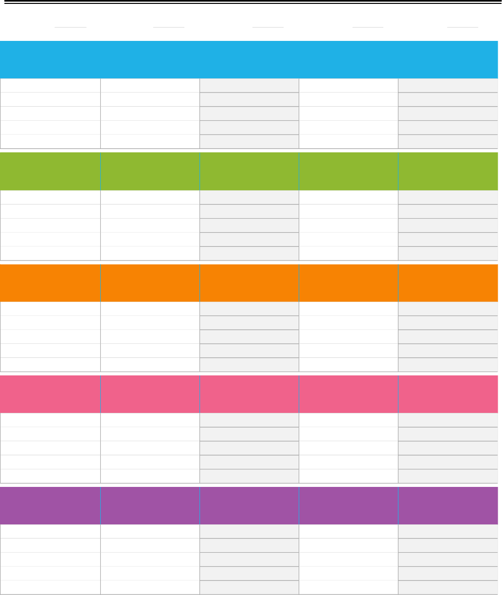 the weekly assignment calendar template can help you make a weekly assignment calendar template