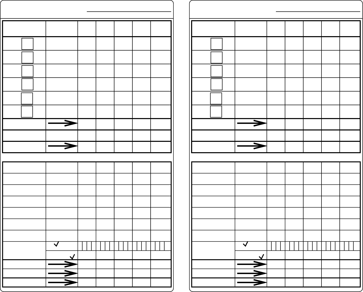 yahtzee score sheets template