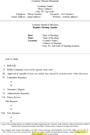 Board Meeting Agenda Template Word