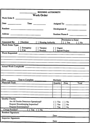 Sample Worker Order Form