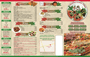 Takeout Menu Template 1